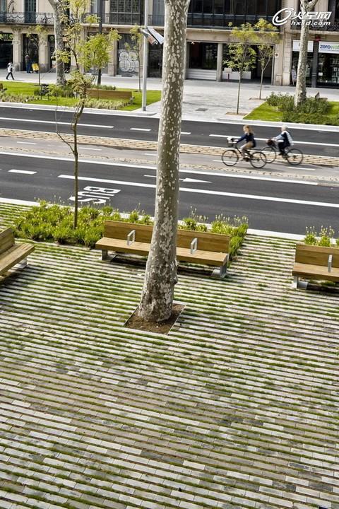 从街旁绿地改建看多功能城市设计的实现