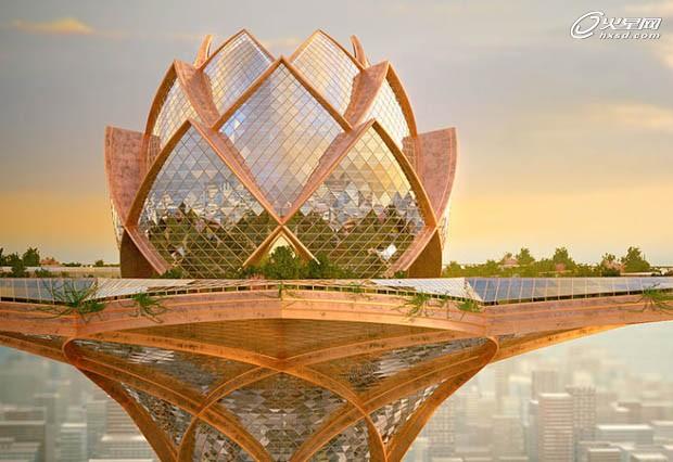 绿色节能建筑:未来建筑设计发展趋势图片