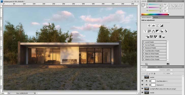 建筑设计教程:斯堪的纳维亚风格避暑别墅制作 | 经验