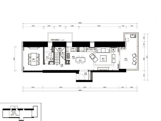 盖长方形房子设计图展示图片