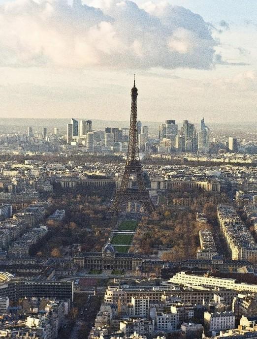 【树风设计】极致浪漫!梦幻巴黎的城市建筑全景图