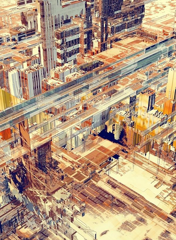 【树风设计】三维空间烂熟于胸!优秀城市建筑插画