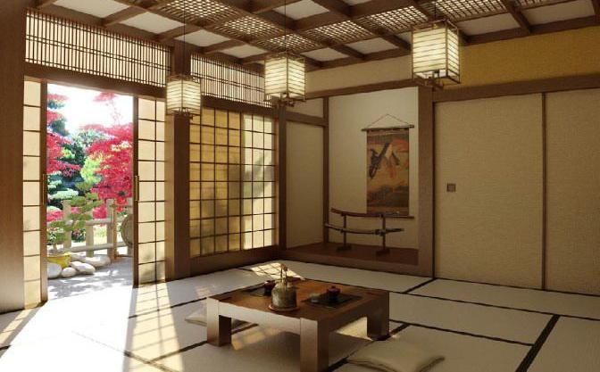 装修成具有地域性特点的茶室
