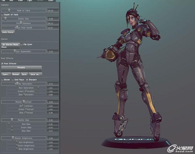 maya制作女战士; maya制作三维动画场景;