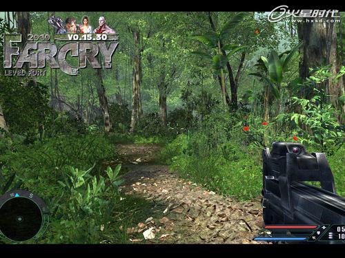 《孤岛惊魂2010》最新mod与原画面对比图