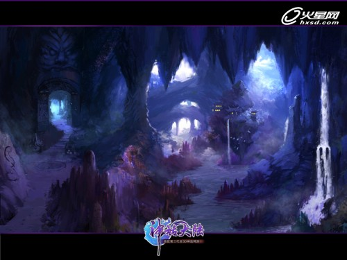 《神话大陆》原画曝光 妖族宫殿具异域风情图片