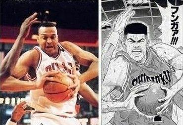 高度还原 灌篮高手 中NBA球星原型揭秘图片