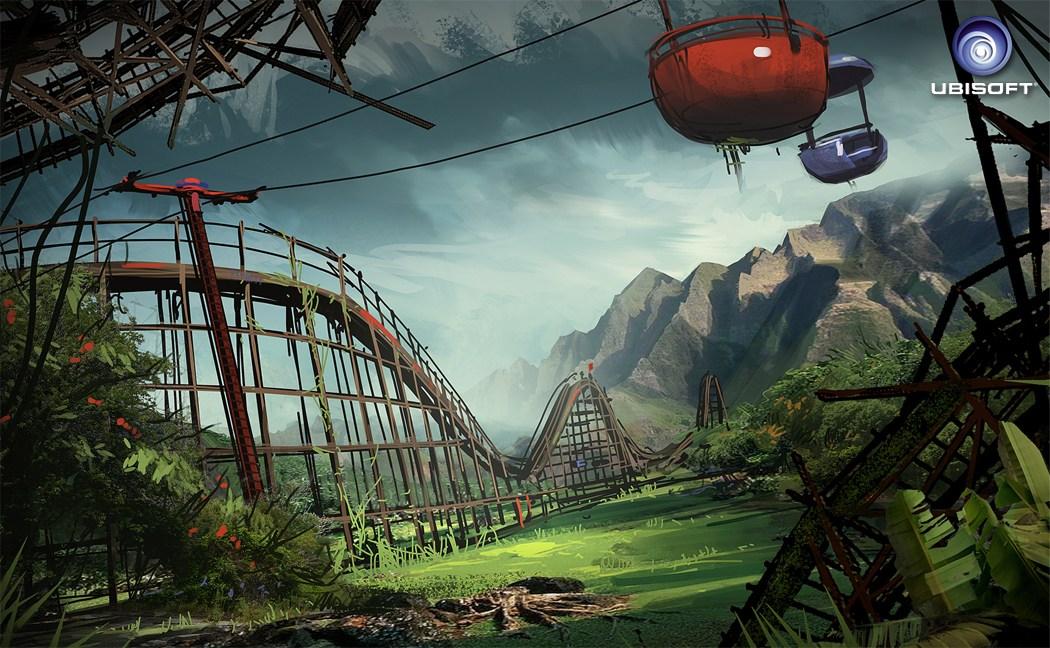 荒岛曾经如此生动《孤岛惊魂3》早期概念图