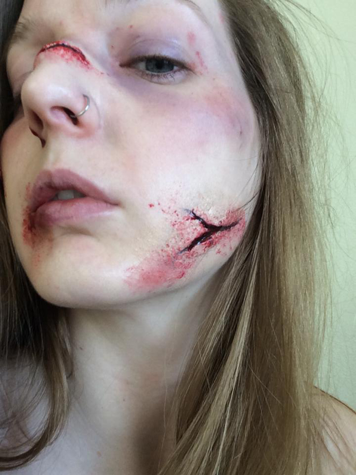 这真不是特效化妆?美女重口演绎游戏角色