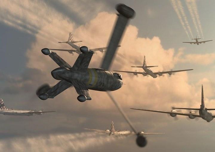 二战中那些逆天的飞机类型 | 火星网-中国数字艺术第