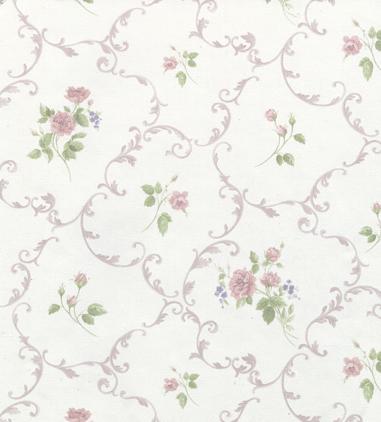 田园欧式花纹墙纸
