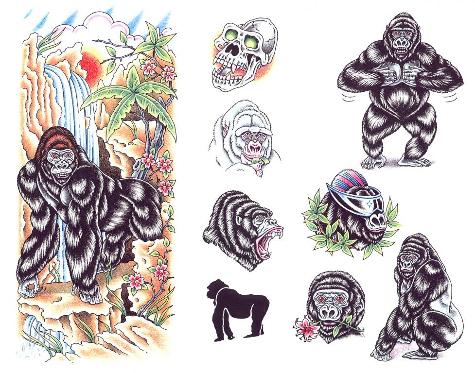动物纹身图案 | 火星网-中国数字艺术第一门户