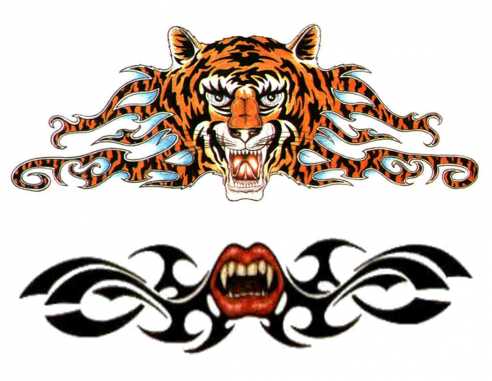 动物纹身图案