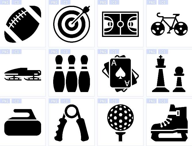 运动项目标志图标图片