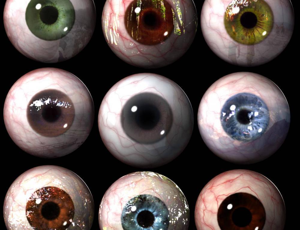 眼球贴图_眼球贴图