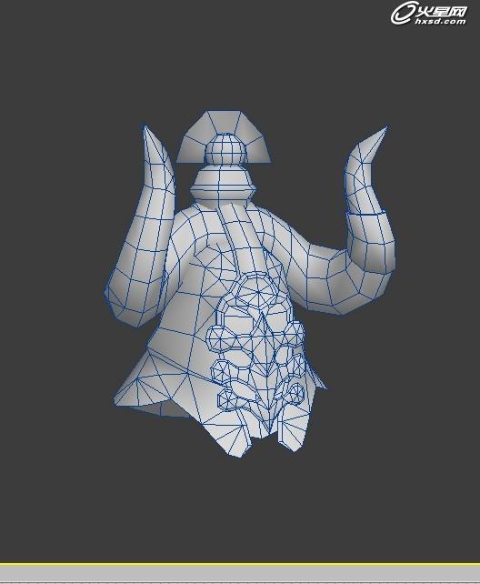 游戏设计教程:3ds max作品《黑武士》制作解析