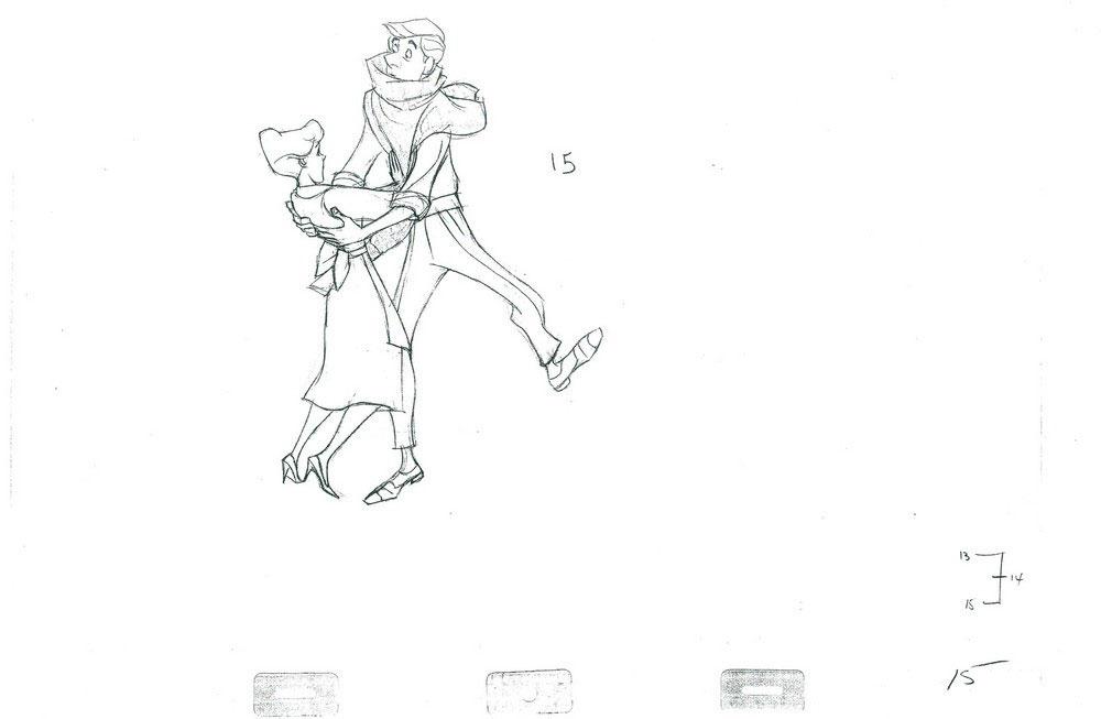 跳舞小孩简笔画人物