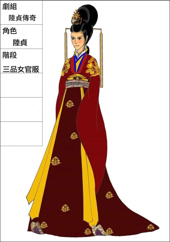 《陆贞传奇》服装设计图曝光 造型引争议 - 火星影视