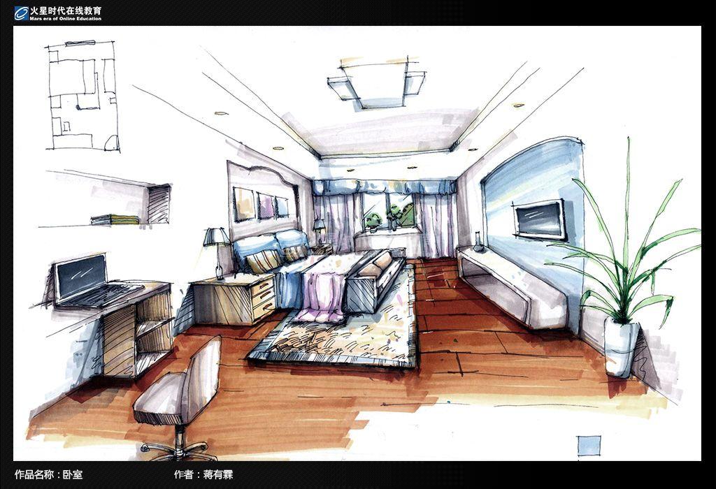 室内设计-手绘快速表现专业班