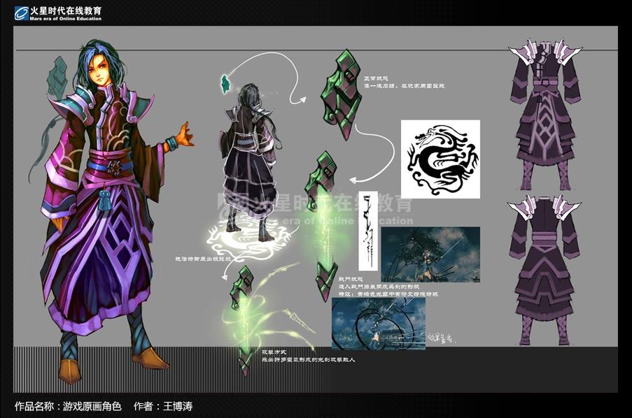 游戏原画角色设计专业班